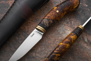 KNIFE ACANTHOPHIS V BROWN CRONOS