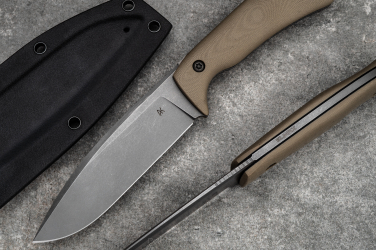 SURVIVAL KNIFE FLINT ELMAX AK