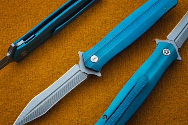 DAGGER LACERTA BLUE  HERMAN